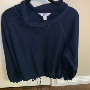 Other - Hoodie scrunched at the bottom
